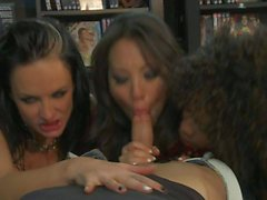 foursome with cock craving sluts
