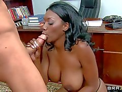 Nyomi Banxx is a bad boy's sexy big racked mom