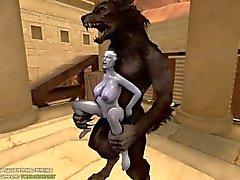 Liara X Werewolf (Complete)