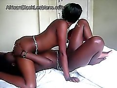 Beautiful African lezzies tongue each other coochies in 69