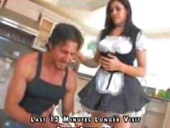 Maid makes it up to her boss