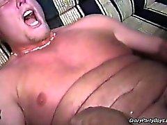 Erstaunlich Homosexuell Orgie mit den heissen Chubby Kerle . Sie alle