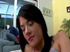 Slutty step sisters lick nipples