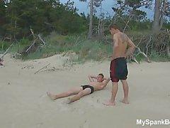 Summer Gay Spanking