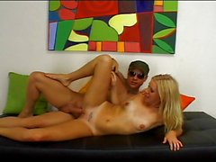 Hot babe dominated by hard cock