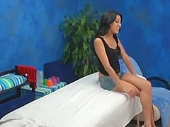 Teen Massage Girl Kimberly Caught Fucking Client!