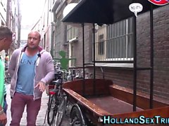 Dutch whore cum drizzled
