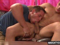 le sexe et éjac rude gay chaud