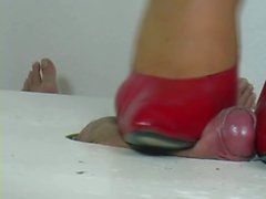 High heel heidi Jenny pink pumps shoejob