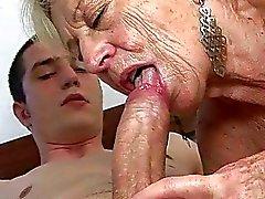 Granny Compilação Sexo