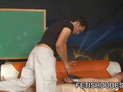 Gabriel Dalessandro: Helpless Guy Bound And Whipped
