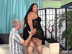 Fettsäure latina Mollige Frauen Lorelais Givemore Wide Load Geschlechts