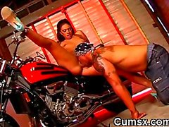 Ebony Slut Pussy Licked And Sucking Big Cock