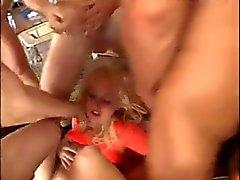 french woman brutal anal gangbang