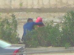 turban hijab voyeur turkish