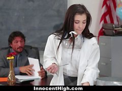 Hot Girl Fucked In Chemistry Lab by Teacher
