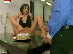 Liz Valery enjoys nasty footsex