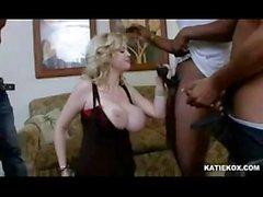 Katie Kox gangbang