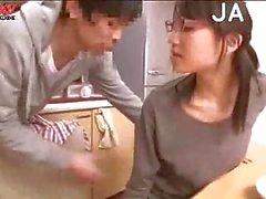 BJ & boobs massage