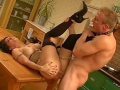 Hot milf and her younger lover 268