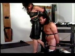 Mistress Domino Down at Domino's Dungeon