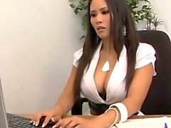 Office Asian Fuck