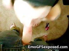 Sevgilisi part1 emici ateşli dövme yaptırmış emo