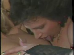 Lingeried shemale and girl vintage porn