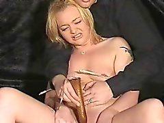 Blonde debutant submissive Donna
