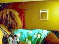 Belle beurette en webcam