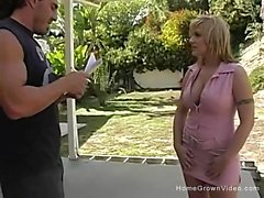 Velicity was a busty blonde that was attracted to Reno the