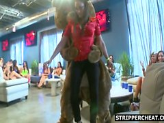 Male stripper blowjob and hardcore action