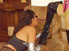 Dominatrix Milf Fucks With Strap-on
