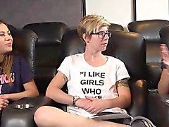chicas lesbianas dedos