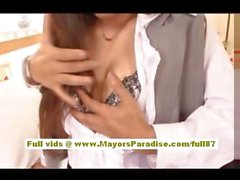 Anna Mitsui Hot Asian secretary gets licked