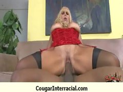 Busty cougar hottie bangs BBC 18