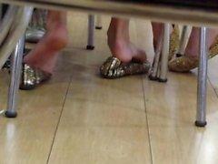 shoeplay candid