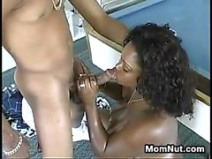 Big Black Momma Fucking On A Pool Table
