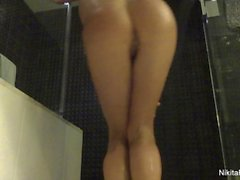 Sexy Russian Nikita teases you in the shower