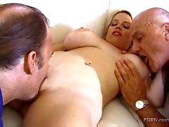 Huge Boobs Blonde Pleasing Everybody