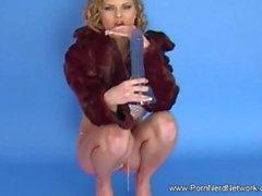 Blonde Czech MILF Solo Slut