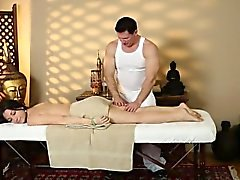 Secret movie from very tricky massage home