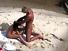Beach Couple Sucking And Fucking