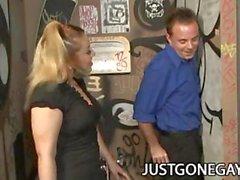 Billy Dewitt : Straight Guy Duped par GloryHole