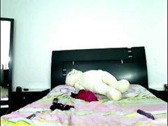 teen vax simulacra blinkande bröst på live webbkameran