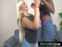 Wild messy interracial lesbian super sex 2