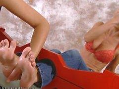 Agradando os pés Jana Cova
