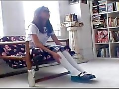 Smoking - Kina Kai - Smoking Schoolgirl