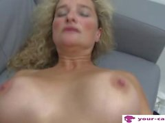 Czech MILF Linda Fisted at Casting