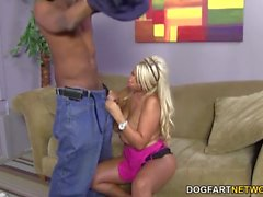 Bridgette B gets anal from BBC